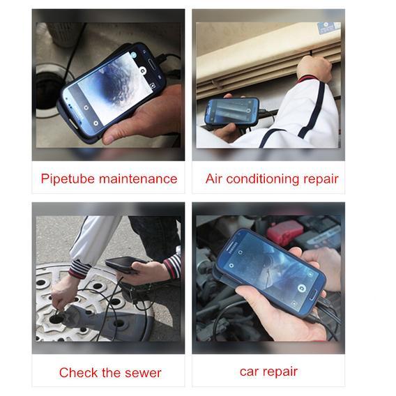 Inspection Wi-Fi Camera - come si usa - funziona